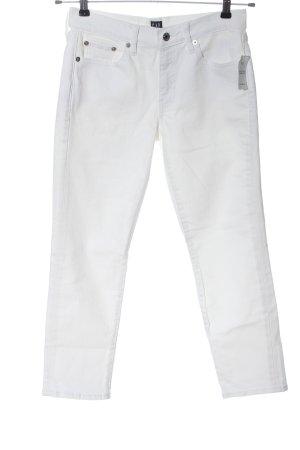 Gap Jeansy 7/8 biały W stylu casual