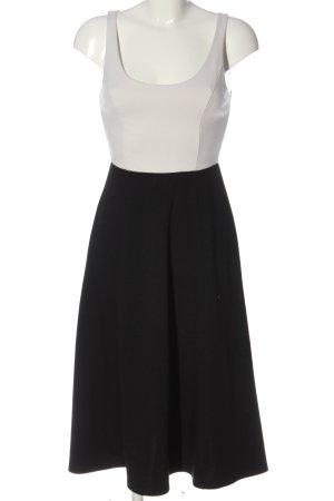 Gap A-Linien Kleid schwarz-wollweiß Casual-Look