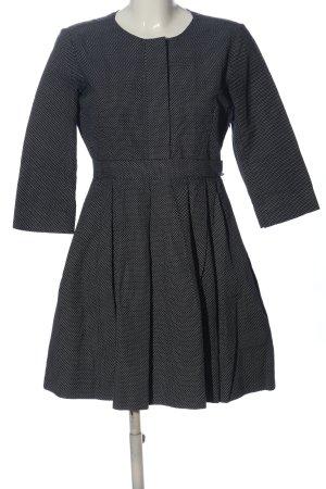 Gap A-Linien Kleid schwarz-weiß Punktemuster Casual-Look