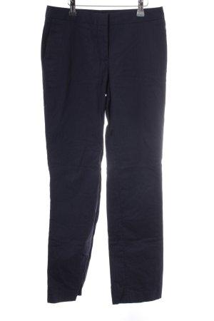 Gap Anzughose stahlblau Streifenmuster Business-Look
