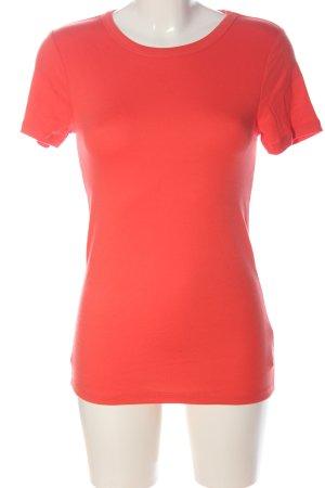 Gap Camiseta Básico rojo look casual