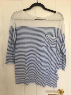 Gap Baumwoll Shirt Ungetragen Blau Weiss Gestreift Gr.S