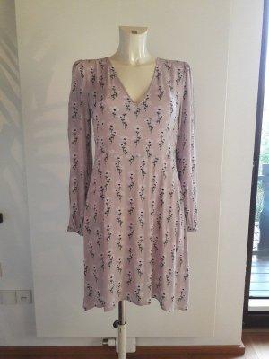 GAP Blumenkleid Blusenkleid Babydollkleid im Vintage Stil