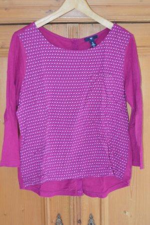 GAP Blusenshirt, Gr. M, hinten zum knöpfen, dünnes Material