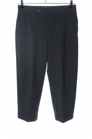 Gap Pleated Trousers light grey striped pattern business style