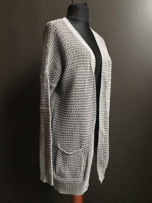 Gap Cardigan all'uncinetto argento Cotone