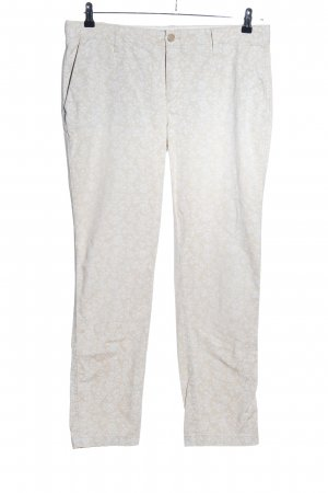 Gap Chinohose hellgrau Allover-Druck Casual-Look