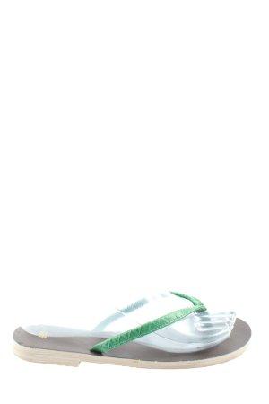 Gap Dianette-Sandalen grün Casual-Look