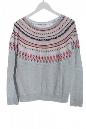 Gap Feinstrickpullover grafisches Muster Casual-Look