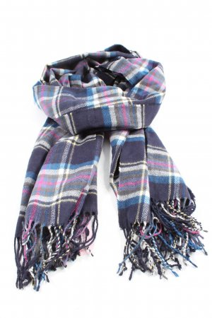 Gap Fringed Scarf check pattern casual look