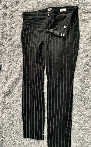 Gap 7/8 Length Trousers black-natural white