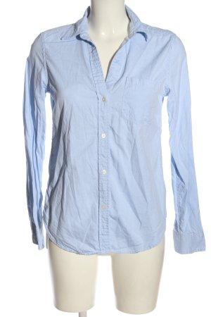 Gap Hemd-Bluse blau Business-Look