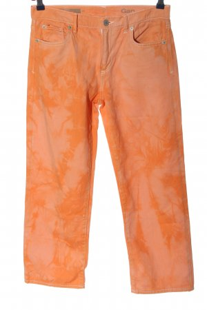 Gap High Waist Jeans pink-light orange abstract pattern casual look