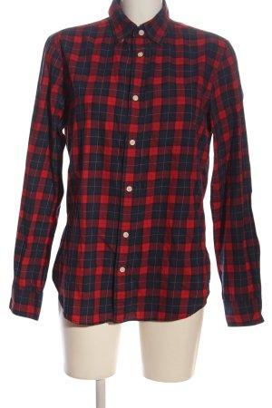 Gap Lumberjack Shirt blue-red allover print casual look