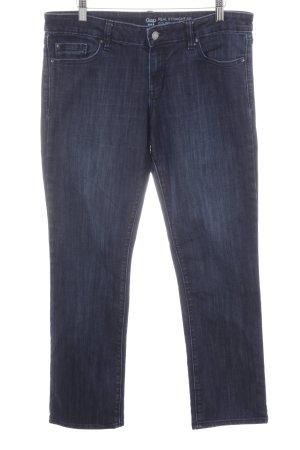 Gap Hüftjeans dunkelblau Jeans-Optik
