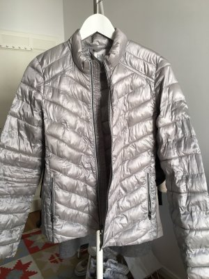 Gap Quilted Jacket silver-colored-light grey