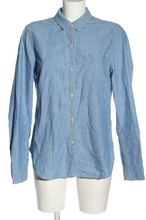 Gap Chemise en jean bleu style décontracté