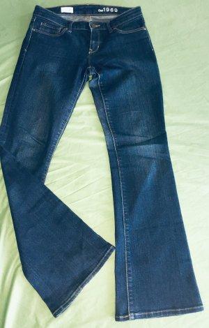 Gap Vaquero de corte bota azul oscuro-azul