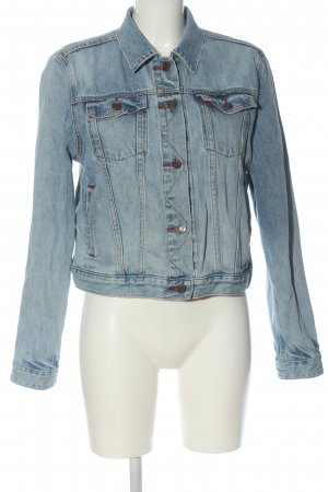 Gap Jeansjacke blau Casual-Look