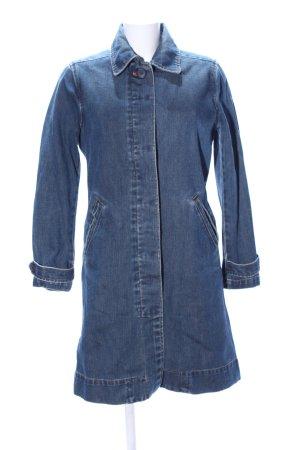 Gap Jeansjacke blau meliert Casual-Look