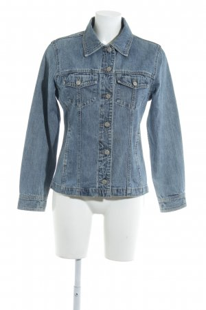 Gap Jeansjacke blau Casual-Look