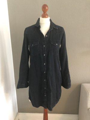 Gap Robe en jean bleu foncé