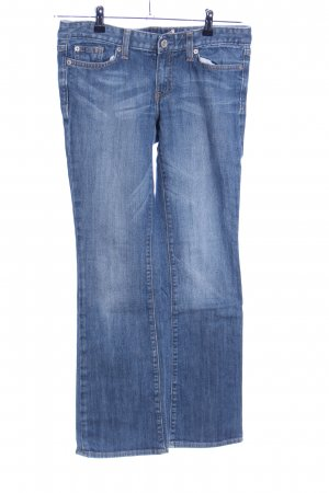 Gap Jeansschlaghose blau Casual-Look