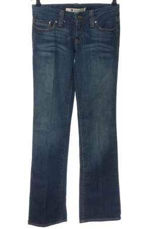 Gap Jeansowe spodnie dzwony niebieski W stylu casual