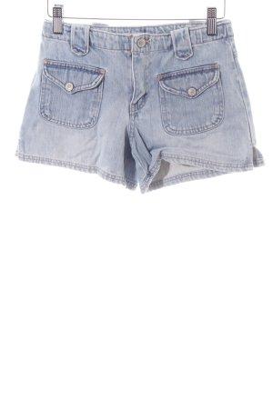 Gap Jeansshorts blau Farbverlauf Casual-Look