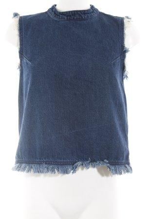 Gap Jeansweste dunkelblau Casual-Look