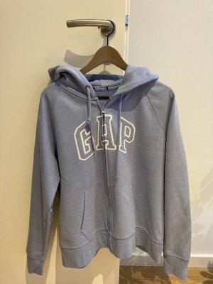 Gap Giacca con cappuccio azzurro-bianco