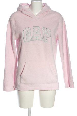 Gap Sweatshirt met capuchon wit gedrukte letters casual uitstraling