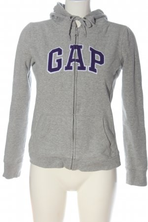 Gap Sweatjacke hellgrau meliert Casual-Look