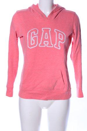 Gap Kapuzensweatshirt pink meliert Casual-Look