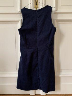 Gap A Line Dress dark blue cotton