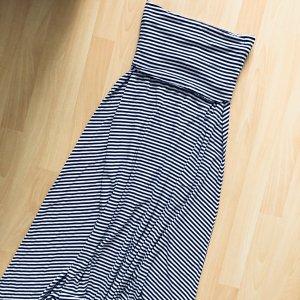 Gap Maxi Dress white-dark blue