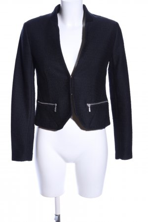 Gap Kurz-Blazer blau Business-Look