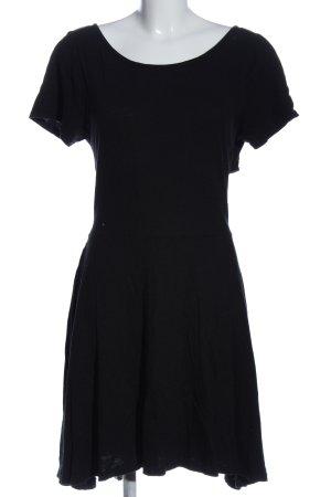 Gap Kurzarmkleid schwarz Elegant