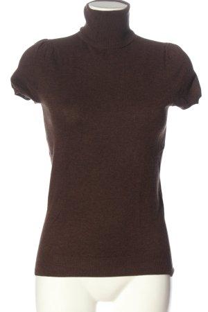 Gap Maglione a maniche corte marrone stile casual