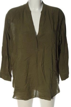 Gap Langarm-Bluse bronzefarben Casual-Look
