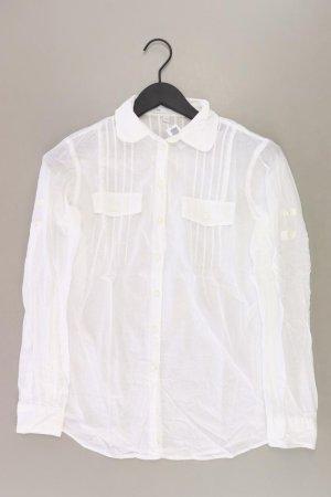 GAP Langarmbluse Größe S weiß aus Baumwolle