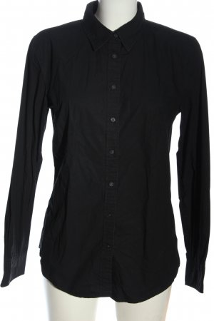 Gap Langarmhemd schwarz Casual-Look
