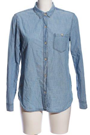 Gap Langarmhemd blau Casual-Look