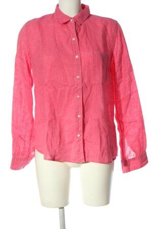 Gap Langarmhemd pink Casual-Look