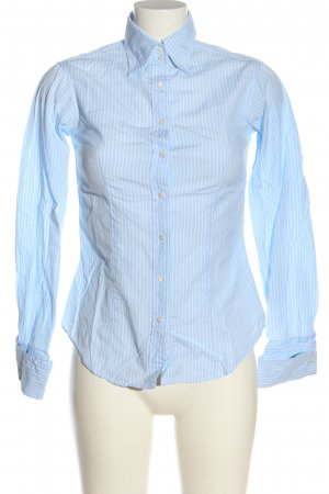 Gap Langarmhemd blau-weiß Streifenmuster Business-Look