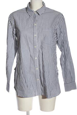 Gap Langarmhemd weiß-schwarz Streifenmuster Casual-Look