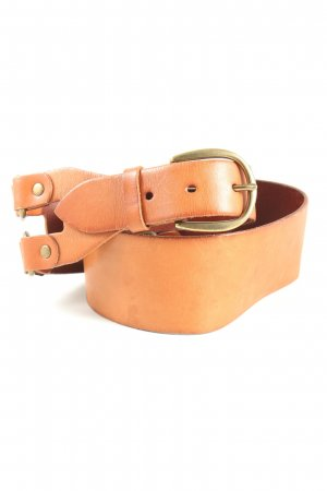 Gap Leather Belt light orange casual look