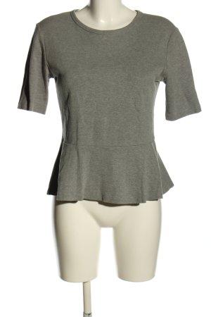 Gap Long Shirt light grey flecked casual look