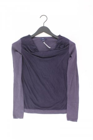 GAP Longsleeve-Shirt Größe XS Langarm lila aus Kunstseide