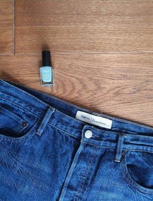 Gap Straight Leg Jeans multicolored cotton
